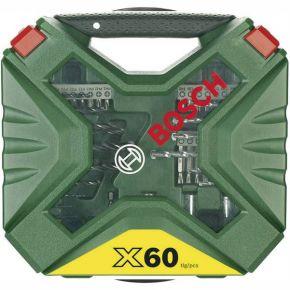 Zestaw wierteł i bitów X-Line, 60 szt. Bosch