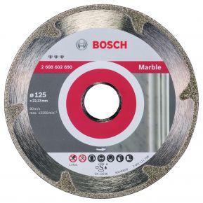 Diamentowa tarcza tnąca Best for Marble 125 x 22,23 x 2,2 x 3 mm Bosch