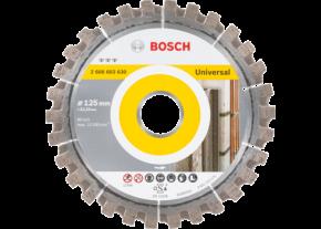 Diamentowa tarcza tnąca Best for Universal 125x22,23 Bosch