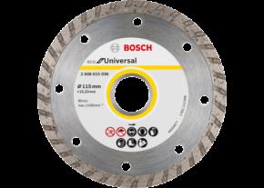 Diamentowa tarcza tnąca ECO for Universal Turbo 115x22,23 Bosch