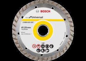 Diamentowa tarcza tnąca ECO for Universal Turbo 125x22,23 Bosch
