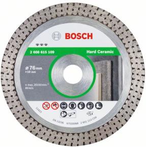 Diamentowa tarcza tnąca for Hard Ceramic Bosch