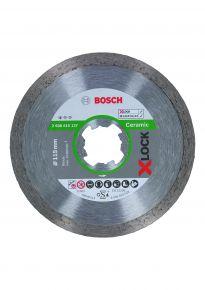 Diamentowa tarcza tnąca Standard for Ceramic z systemem X-LOCK, 115x22,23x1,6x7 115 x 22,23 x 1,6 x 7 mm Bosch