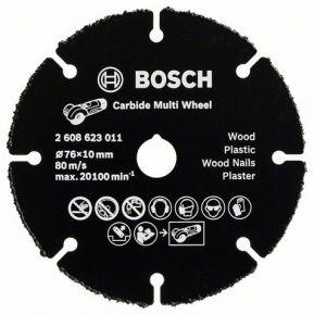 Tarcza tnąca 76x10 z węglików spiekanych Multi Wheel Bosch