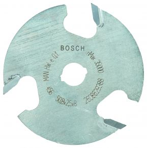 Frezy tarczowe 8 mm, D1 50,8 mm, L 2,5 mm, G 8 mm Bosch