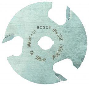 Frezy tarczowe 8 mm, D1 50,8 mm, L 3 mm, G 8 mm Bosch