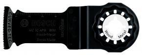 Brzeszczot BIM do cięcia wgłębnego AIZ 32 APB Wood and Metal 50 x 32 mm Bosch