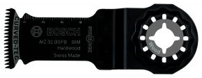 Brzeszczot BIM do cięcia wgłębnego AIZ 32 BSPB Hard Wood 50 x 32 mm Bosch