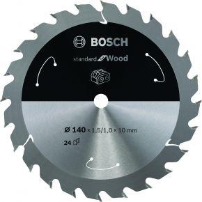 Ostrze do piły tarczowej bezprzewodowej Standard for Wood 140 x 1,5 / 1 x 20 T24 Bosch