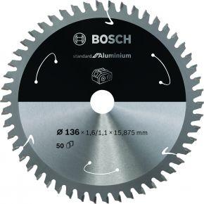 Ostrze do piły tarczowej bezprzewodowej Standard for Aluminium 140 x 1,6 / 1 x 20 T50 Bosch