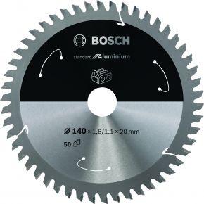 Ostrze do piły tarczowej bezprzewodowej Standard for Aluminium 160 x 1,8 / 1,3 x 20 T52 Bosch