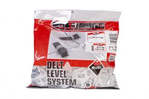 Paski DELTA LEVEL SYSTEM 1.5 mm / 3-12 mm (B-100 szt.) RUBI