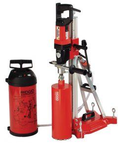 Wiertnica RB-3W, 230 V komplet wyposażenia: silnik, odpylacz, klucze, stojak, zestaw kotwiący, pompę próżniową i podciśnieniowy przewód elastyczny powietrza