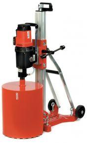 Wiertnica RB-214/3, 230 V + stojak + zestaw kotwiący + wkładka próżniowa, pompa i przewód elastyczny powietrza + klucze