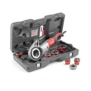"""Gwintownica z napędem mechanicznym model 690-I 230 V 1/2""""- 2"""" ze wspornikiem i kasetą"""