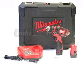 Wiertarko-wkrętarka z wymiennym uchwytem (2 x 2.0 Ah) M12BDDX-202C M12™ Milwaukee