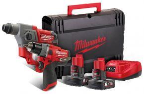 M12 FPP2B-602X zestaw narzędzi POWERPACK w walizce Milwaukee