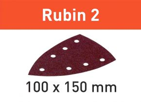 Arkusz ścierny Rubin 2 STF DELTA/7 P150 RU2/50 Festool