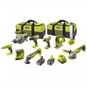 Zestaw narzędzi akumulatorowych R18CK9-252S RYOBI