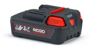 Zaawansowana bateria litowa 18 V 2.5 Ah RIDGID