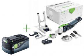 Akumulatorowe urządzenie wielofunkcyjne OSC18Li E-Basic Set+aku FESTOOL
