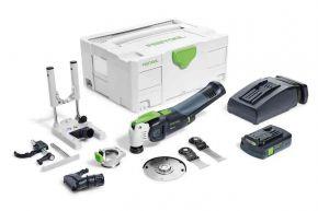 Akumulatorowe urządzenie wielofunkcyjne OSC 18 Li 3,1 E-Set VECTURO Festool