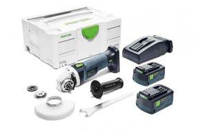 Akumulatorowa szlifierka kątowa AGC 18-125 Li 5,2 EB-Plus Festool