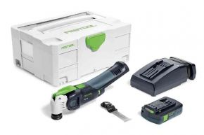 Akumulatorowe urządzenie wielofunkcyjne OSC 18 Li 3,1 E-Compact VECTURO Festool