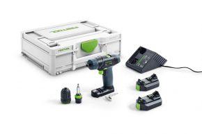 Akumulatorowa wiertarko-wkrętarka TXS 2,6-Plus 576101 Festool