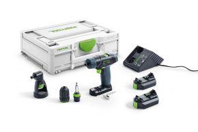 Akumulatorowa wiertarko-wkrętarka TXS 2,6-Set 576102 Festool