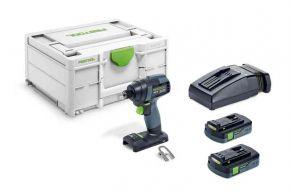 Akumulatorowa zakrętarka udarowa TID 18 C 3,1-Plus Festool