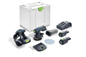 Akumulatorowa szlifierka krawędziowa ES-ETSC 125 3,1 I-Plus Festool