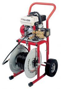 KJ-2200 Przepychacz ciśnieniowy z silnikiem benzynowym KJ-2200 C