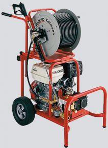 KJ-3000 Przepychacz ciśnieniowy z silnikiem benzynowym