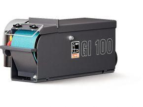 Podstawowa szlifierka taśmowa GI100EF, 100 mm jednofazowa GRIT