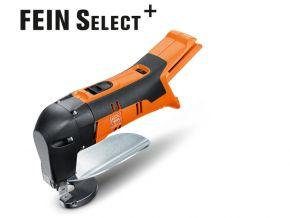 Akumulatorowe nożyce do blachy o grubości do 1,6 mm ABLS 18 1.6 E Select Fein