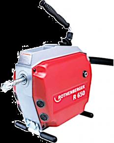 Maszyna do czyszczenia rur z zestawem narzędzi 22 mm R 650 Rothenberger 72680