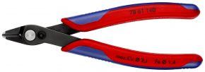 Szczypce tnące Electronic Super Knips® XL czernione 140 mm SB Knipex