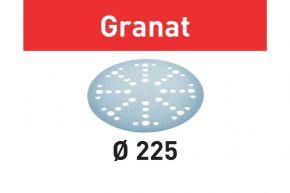 Krążki ścierne STF D225/48 P60 GR/25 Granat Festool