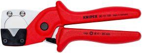 Obcinak do rur wielowarstwowych i węży pneumatycznych z wytrzymałego, wzmacnianego włóknem szklanym tworzywa sztucznego 185 mm SB Knipex