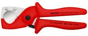 KNIPEX PlastiCut® Obcinak do węży i rur ochronnych z wytrzymałego, wzmacnianego włóknem szklanym tworzywa sztucznego 185 mm SB Knipex