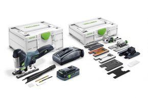 Wyrzynarka akumulatorowa PSC 420 HPC 4,0 EBI-Set CARVEX Festool
