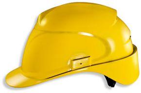 Hełm UVEX AIRWING żółty kask ochronny