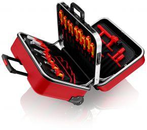 Walizka narzędziowa BIG Twin Move RED dla elektryków Knipex