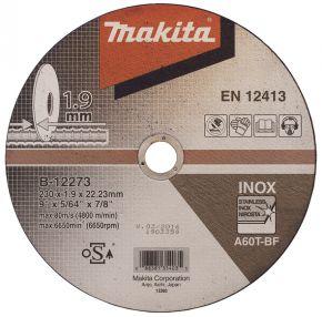 Extra cienka tarcza tnąca 230x1.9x22mm Makita