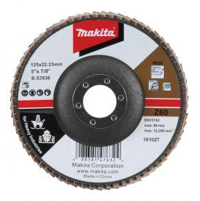 Ściernica płytkowa przemysłowa 125x22.23mm Z60 Makita B-53936