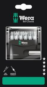 Zestaw Bit-Check 12 Metal 1 SB, 12 elementów Wera