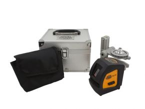 Laser krzyżowy CL1G Tyczka rozporowa LP-33 Nivel System