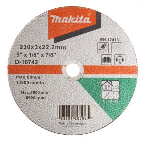 Tarcza tnąca do betonu 230x2.5mm C30S (płaska) Makita