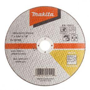 Tarcza tnąca inox 180x2mm WA36R (płaska) Makita